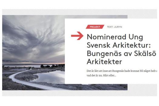 Ung Svensk Arkitektur